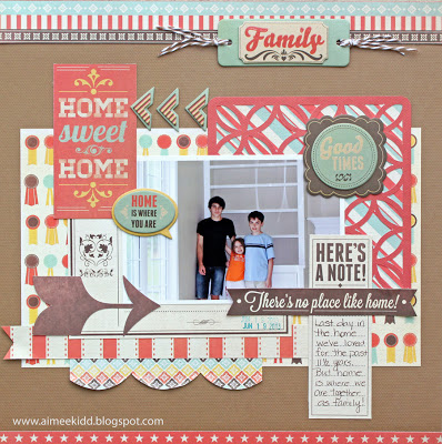 AimeeKidd - WRMK Home Sweet Home layout