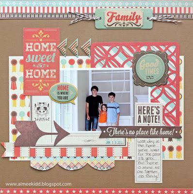 AimeeKidd - WRMK Home Sweet Home layout