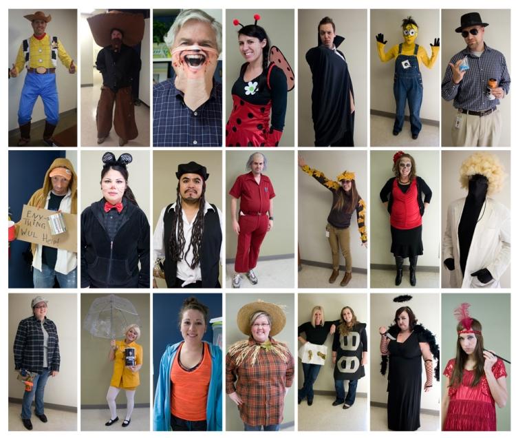 halloween individuals