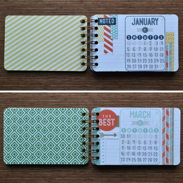 Calendar Binding Ideas : Gift ideas cinch notebooks we r memory keepers