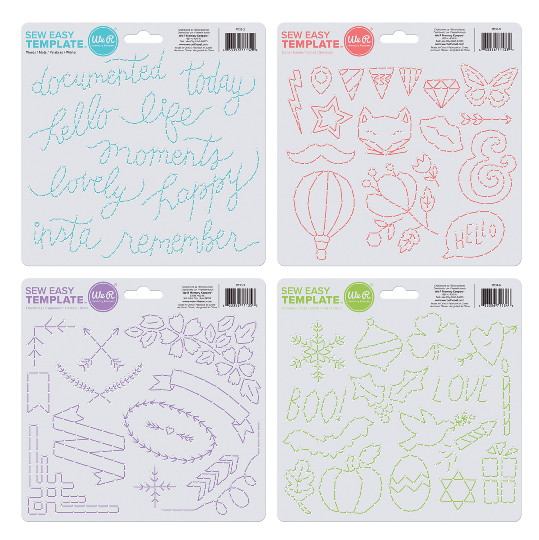 Sew Easy Templates | We R Memory Keepers Blog