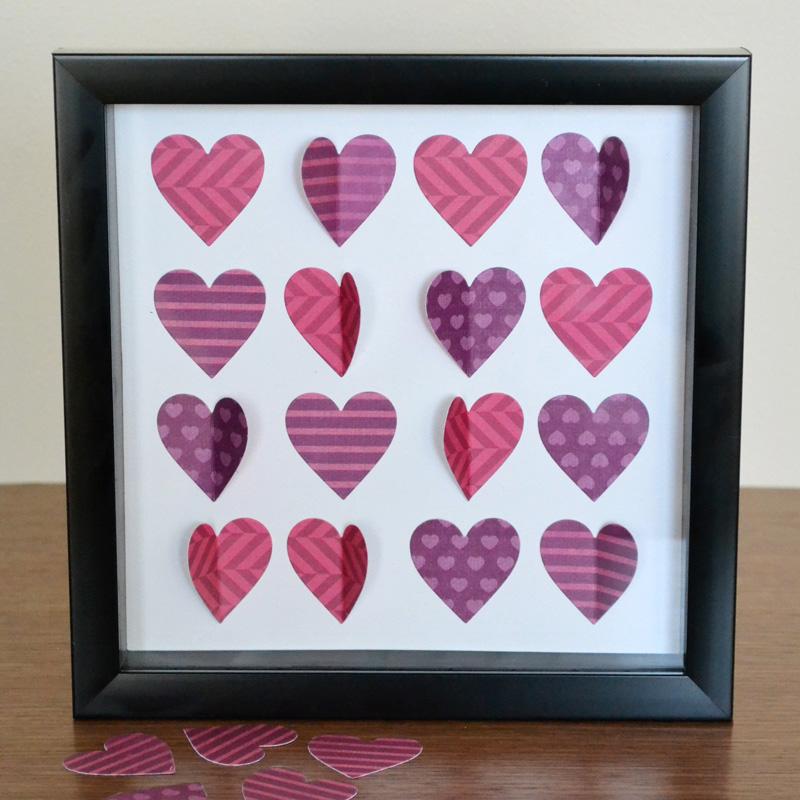 Framed Heart Specimen Art | We R Memory Keepers Blog