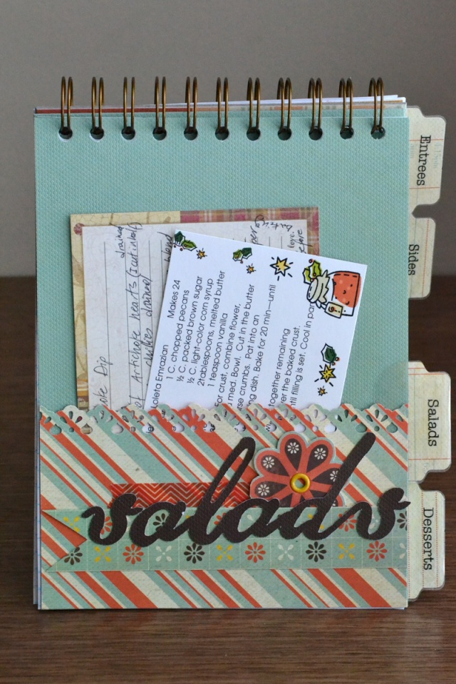 recipe card cinch book