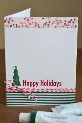 WRMK_seasonal letterpress cards cmas_aly dosdall