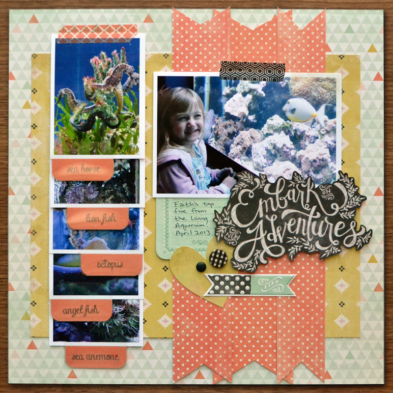 Scrapbooking With The Tab Punch We R Memory Keepers Blog