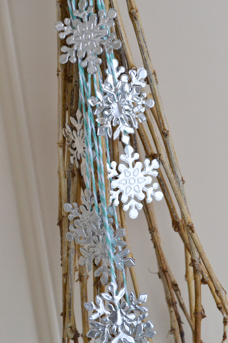 Aly Dosdall January Door Decor Ideas