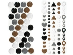 enamel dots and shapes_neutral