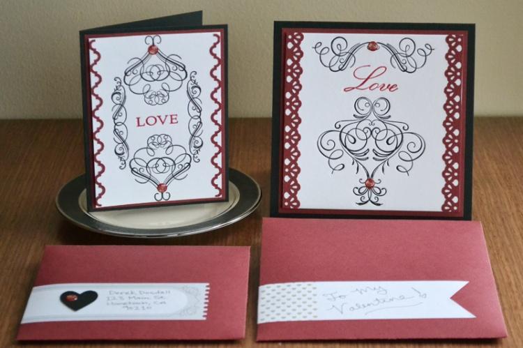 We R_Elegant Letterpress Valentines_Aly Dosdall