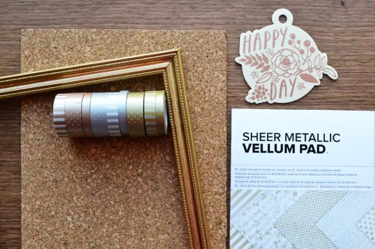 metallic frame supplies