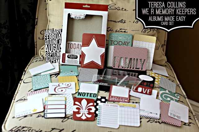 Teresa Collins We R Memory Keepers Card Set #4