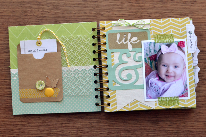 Baby Book Cover Page Ideas ~ Baby week cinch book we r memory keepers