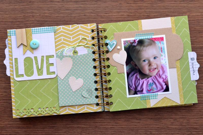 Baby Week: Cinch Baby Book | We R Memory Keepers Blog