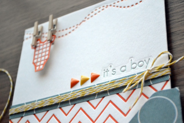 We R Letterpress Baby Announcement by Aly Dosdall 3