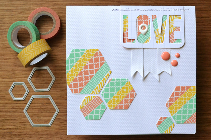 die cutting washi tape we r memory keepers blog
