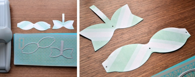 die cut bow