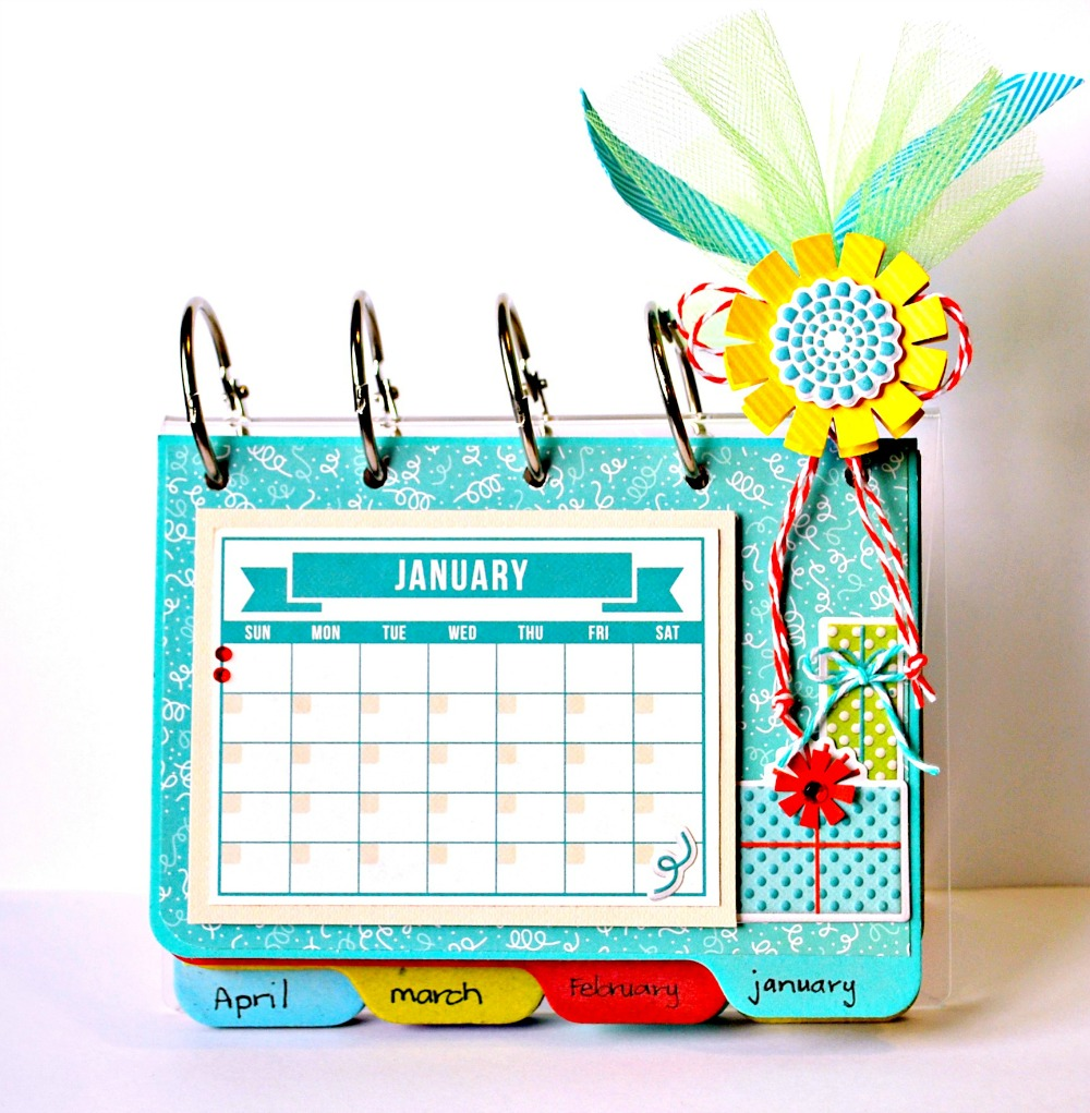 Creative Table Calendar Ideas : Birthday gift ideas we r memory keepers