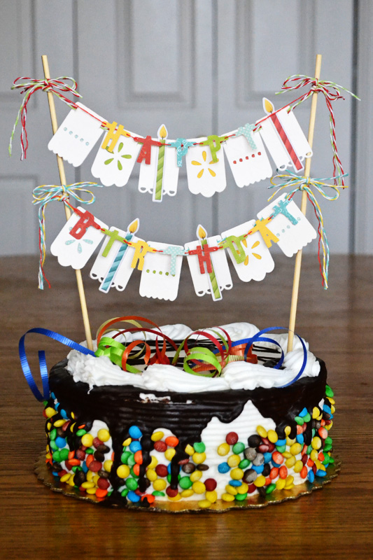 Cake Toppers For Birthday : Birthday Week: Cake Topper We R Memory Keepers Blog