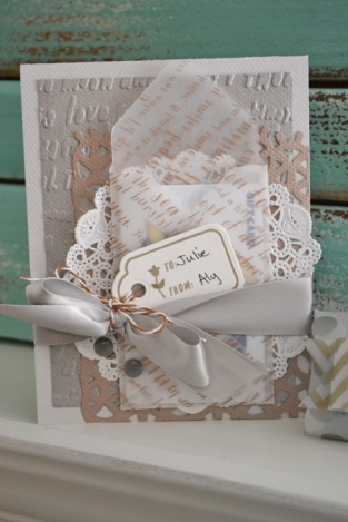 We R Envelope Punch Board Gift Card Holder by Aly Dosdall