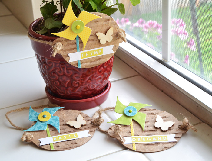We R Potted Herb Labels by Aly Dosdall