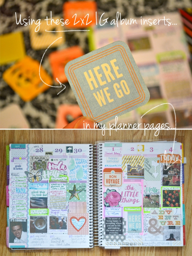 2x2s in Planner 0 | Amnda Rose blog