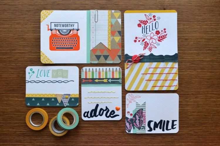 We R Lettepress Journaling Cards by Aly Dosdall