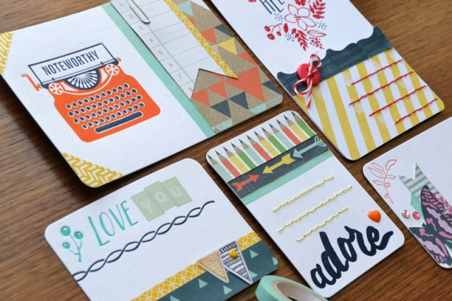 We R Lettepress Journaling Cards by Aly Dosdall_close