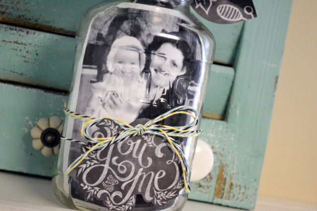 We R Mason Jar Photo Display by Aly Dosdall_close2