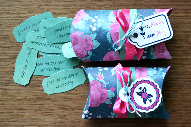 Mother\'s Day Coupon Boxes [free printable] | We R Memory Keepers Blog