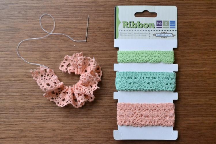 crochet lace flower