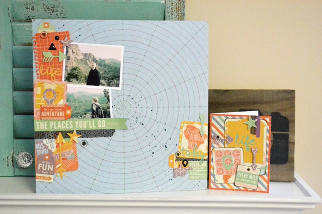 We R AME Dies Layout and Card by Aly Dosdall