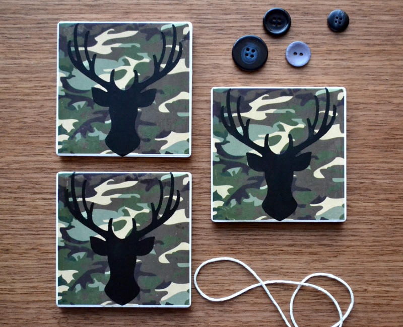 We R Fathers Day Coasters by Aly Dosdall