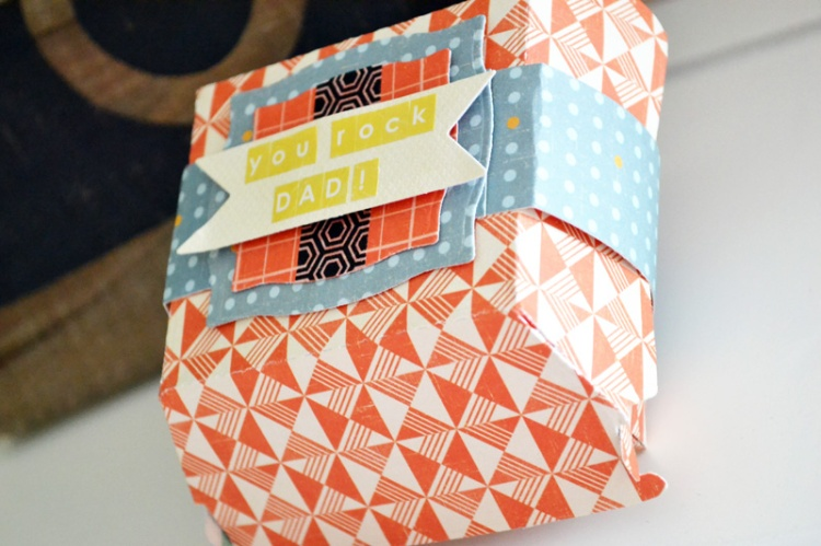 We R Hamburger Box Gift Card Holder by Aly Dosdall_close