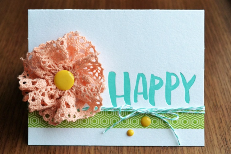 We R Happy Card by Aly Dosdall
