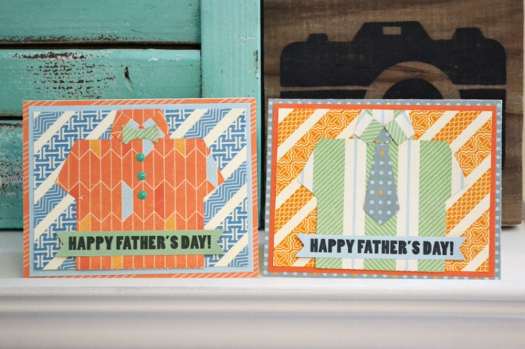 We R Shirt and Tie Cards by Aly Dosdall