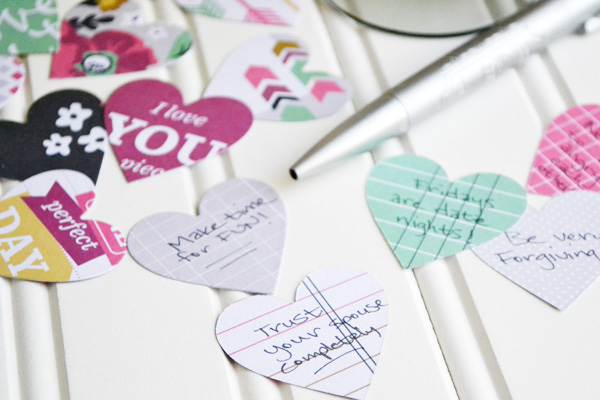 We R DIY Wedding Advice Cards by Aly Dosdall 2