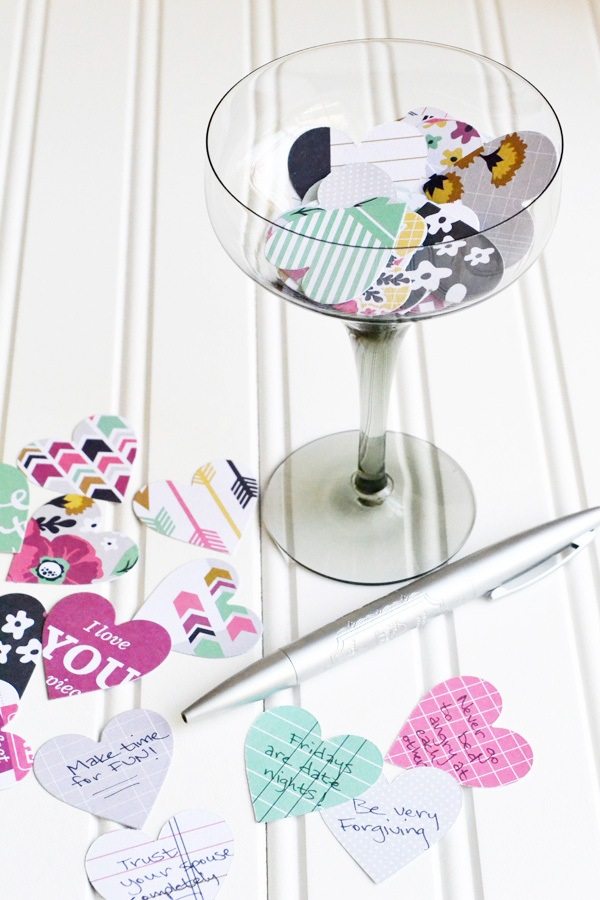 We R DIY Wedding Advice Cards by Aly Dosdall
