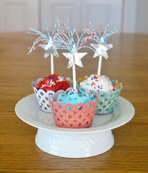 We R Fireworks Cupcake Toppers by Aly Dosdall