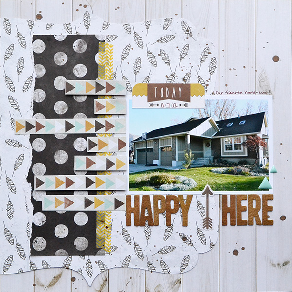 Happy Home by Aly Dosdall