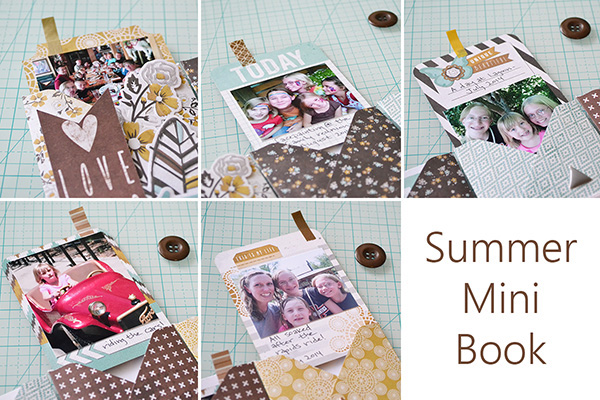 Summer Mini by Aly Dosdall collage