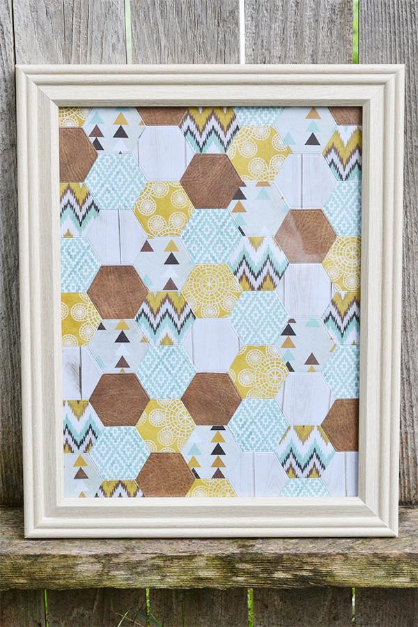 Hexagon Wall Art | We R Memory Keepers Blog : we r quilts - Adamdwight.com