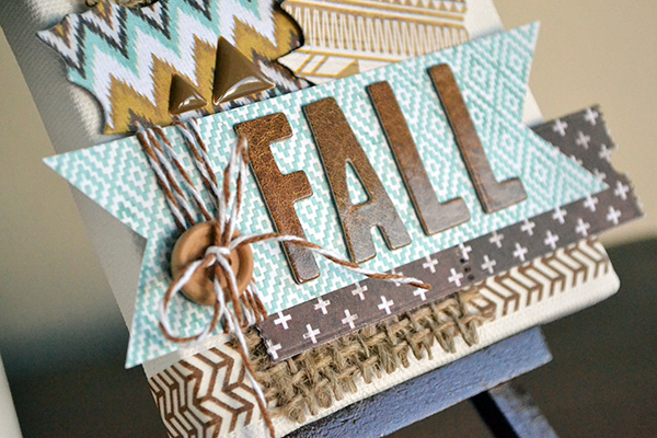 Mini Fall Canvas by Aly Dosdall_close 1