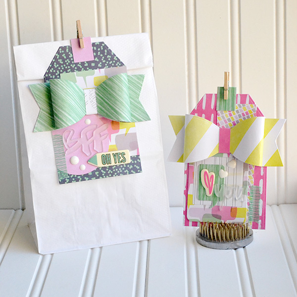 Paper Bow Gift Tags by Aly Dosdall