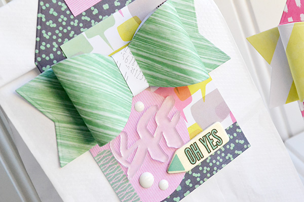 Paper Bow Gift Tags by Aly Dosdall_close 1