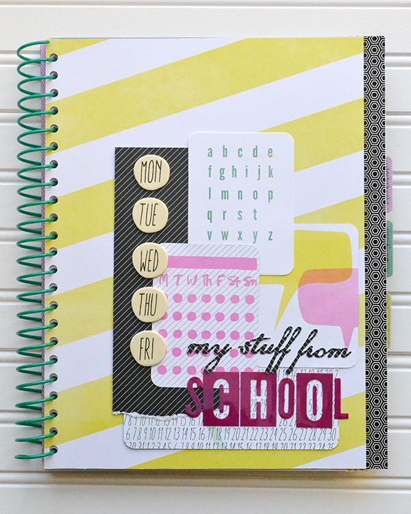 Pocket School Organizer by Aly Dosdall