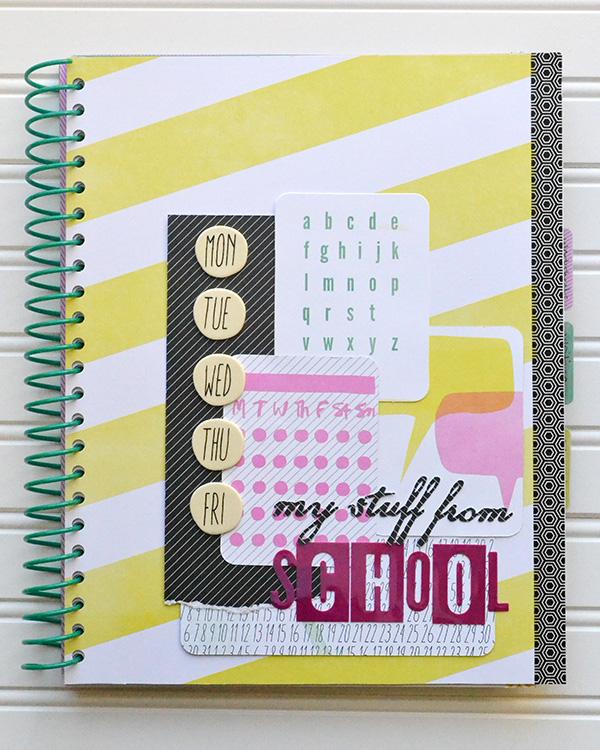 Pocket School Organizer by Aly Dosdall