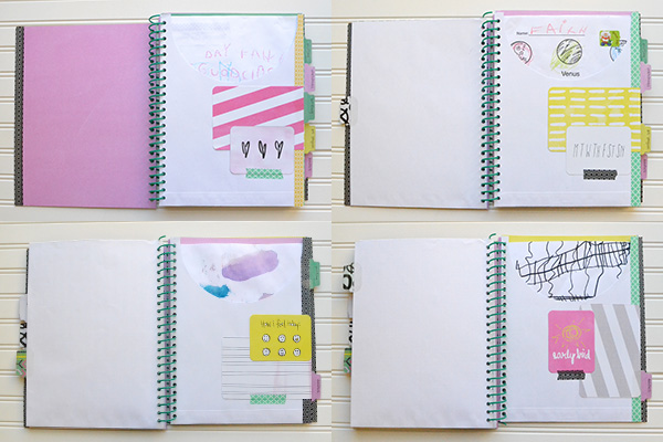 Pocket School Organizer by Aly Dosdall_collage