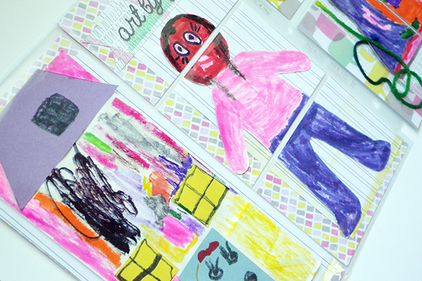 storing school art projects by aly dosdall 2