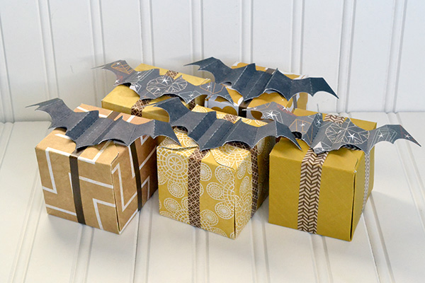 Bat Favor Boxes by Aly Dosdall