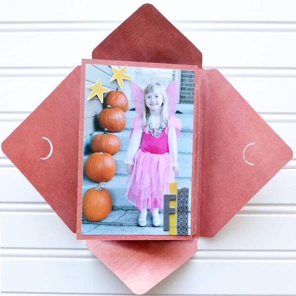 DIY Halloween Brag Book by Aly Dosdall 1
