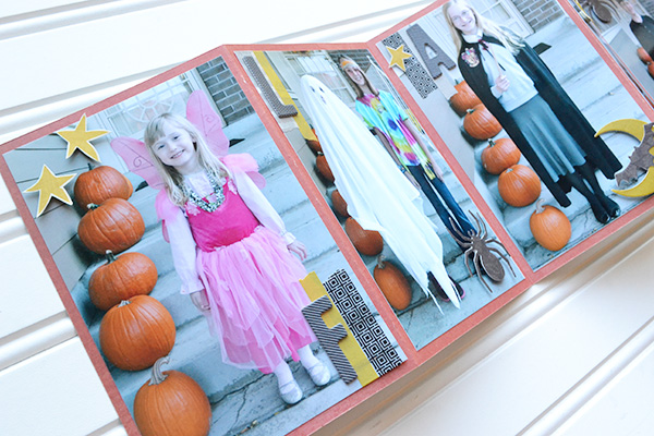 DIY Halloween Brag Book by Aly Dosdall 3